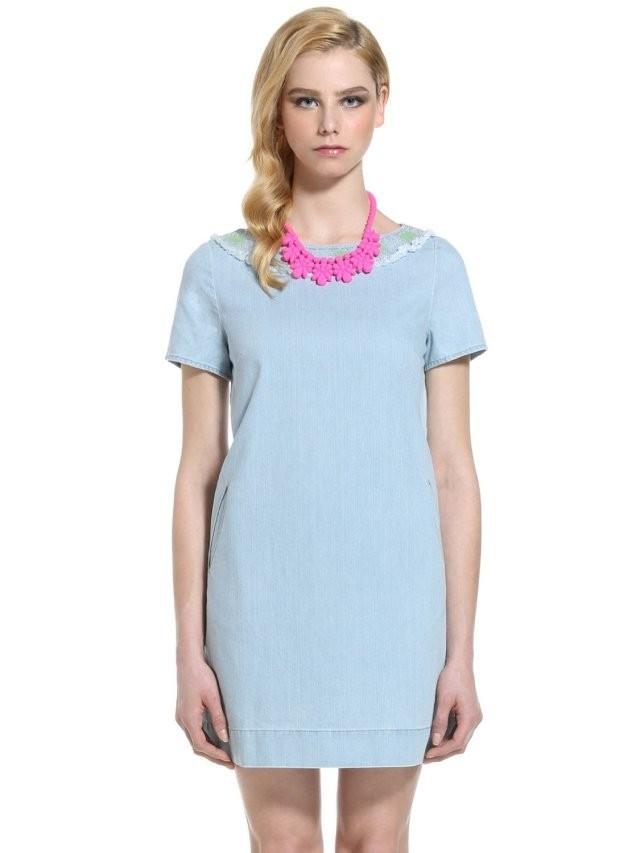 2014 Fashion Women Summer Jeans Dress O-neck Women's Casual Dresses Free Shipping | Amazing Shoes UK
