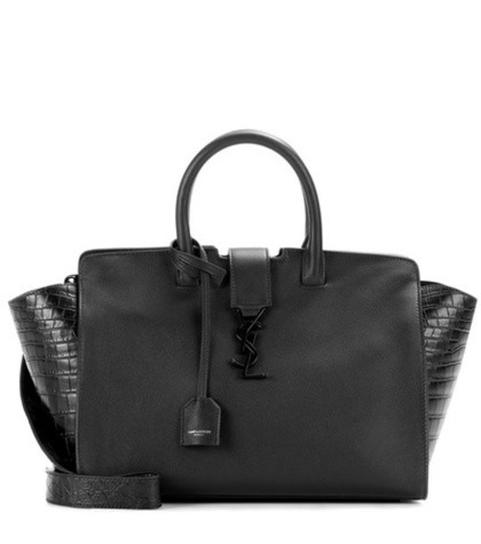 Saint Laurent handbag leather black bag