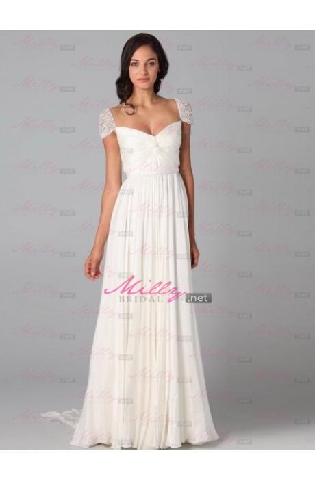 Buy sweetheart sleeveless empire 2015 prom dress at millybridal.net