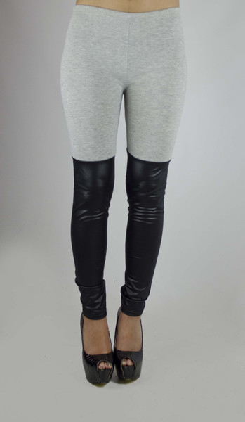 Amber faux leather leggings – alijoe boutique