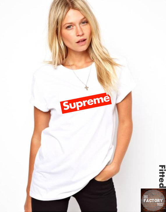 Kate moss supreme fashion designer womens mens by zeefactorytees
