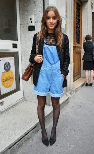 jumpsuit denim overalls hipster wishlist