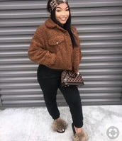 jacket,brown,winter outfits,fall outfits,spring,summer,fashion,beautiful,shopping,black,cute,instagram,louis vuitton,designer,brown leather bag