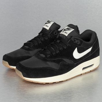 Nike Air Max 1 Essential Sneakers Black/Sail/Gum Light Brown von Def-Shop.com on Wanelo