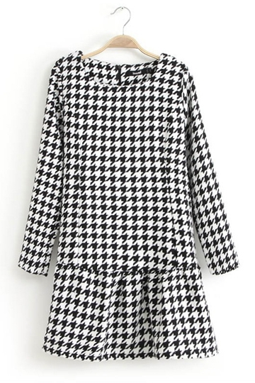 Classic Swallow Gird Frilly Dress [FXBI00392]- US$26.99 - PersunMall.com