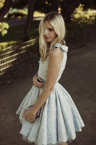 dress prom lace silver light bow bows puffy puffy dress pretty prom dress pinterest