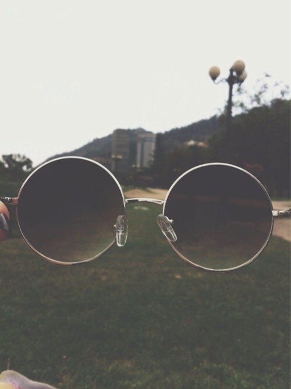 sunglasses sunnies vintage round vintage sunnies circle frame sunglasses 90s style retro grunge hippy sunglasses hippie