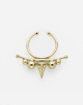 jewels gold piercing septum piercing