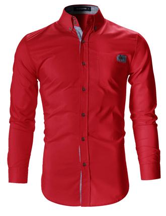 shirt menswear mens shirt red shirt tumblr shirt