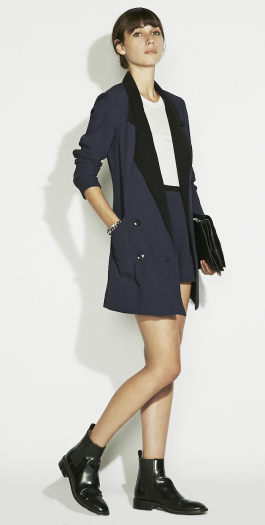 The Reformation :: CLOTHES :: OUTERWEAR :: EBONY BLAZER