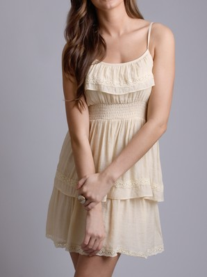 Down home eyelet dress in yellow in  other ways to shop shop by brand sophie & kate at frock candy