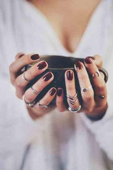 jewels ring boho fall outfits finger rings
