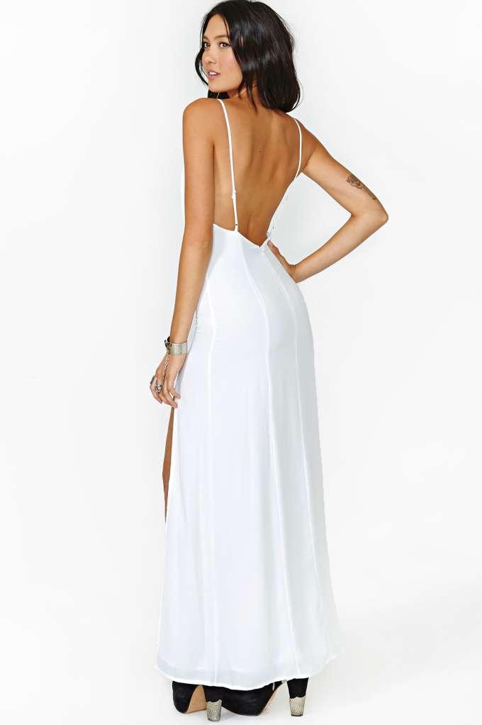 Simplicity is key maxi dress