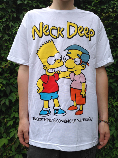 'Everything's Coming Up Milhouse' T-Shirt (WARPED TOUR STOCK)