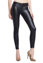 The faux leather pant