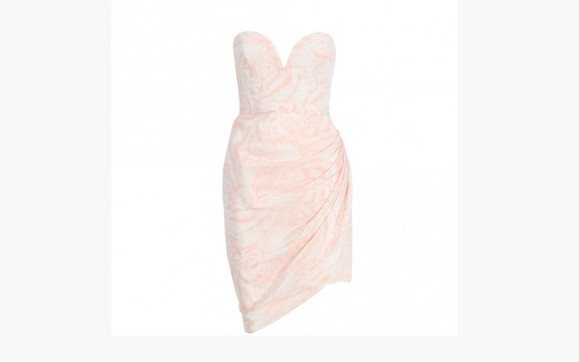 white dress bustier dress strapless short dress zimmermann draped dress