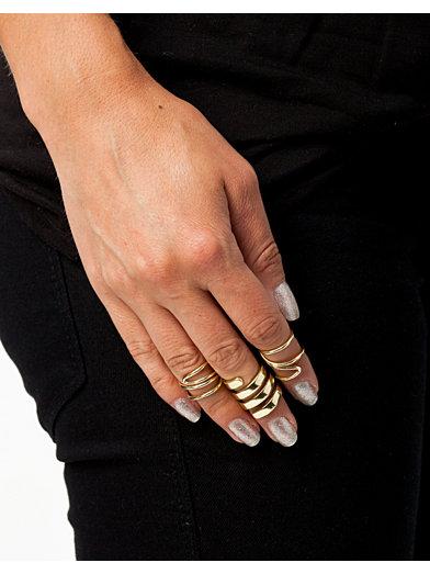 Massive Knuckle Rings - Fanny Lyckman For Estradeur - Guld - Smycken - Accessoarer - Kvinna - Nelly.com