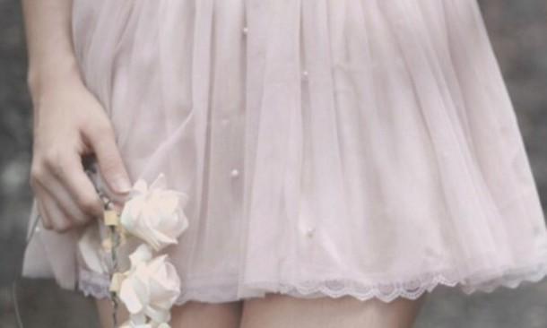 skirt pearl girly pastel skirt korean fashion