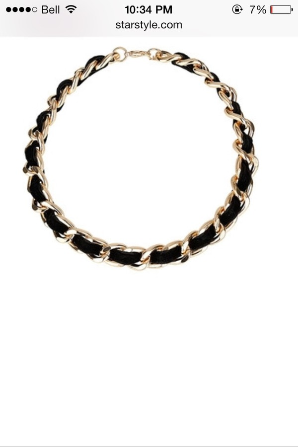 jewels kylie jenner gold choker