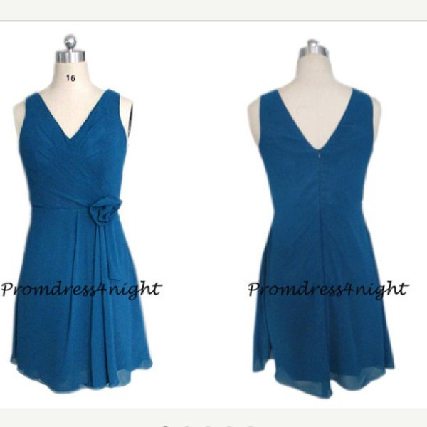 v neck bridesmaid dress short bridesmaid dress knee length bridesmaid dress mother of the bride dress chiffon mother of the bride dress mother dress blue dress short party dress bridal party dress short formal dress