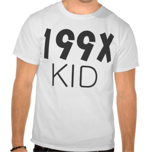 199X KID Shirt from Zazzle.com