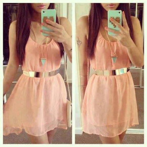 jewels dress belt