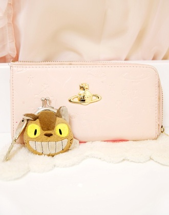 bag cute pink wallet vivienne westwood kawaii fashion