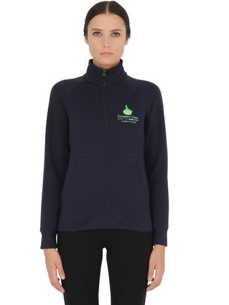 sweatshirt cotton navy sweater