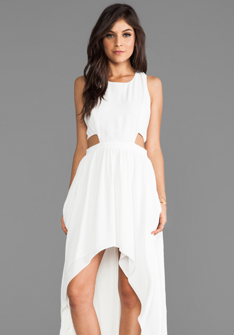 LOVERS   FRIENDS Foxy Dress in White - Dresses
