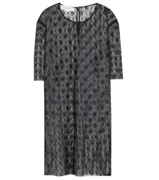 Stella McCartney t-shirt shirt t-shirt oversized lace black top