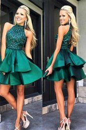 dress,homecoming dress,homecoming dresss,homecoming,party dress,homecoming dress 2016,green homecoming dress,cocktail dress,short homecoming dress,halter homecoming dress,graduation dress,short prom dress,short party dresses,a-line homecoming dress,beaded homecoming dress,classy homecoming dress,formal homecoming dress,cheap homecoming dress,okdresses