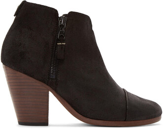 classic boots suede black shoes