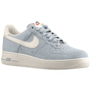 Nike Air Force 1 Low - Men's - Basketball - Shoes - Strata Grey/Sail