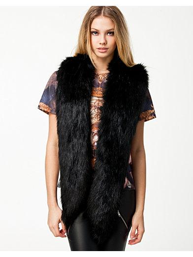 Classy Fur - Fanny Lyckman For Estradeur - Svart - Accessoarer Övrigt - Accessoarer - Kvinna - Nelly.com
