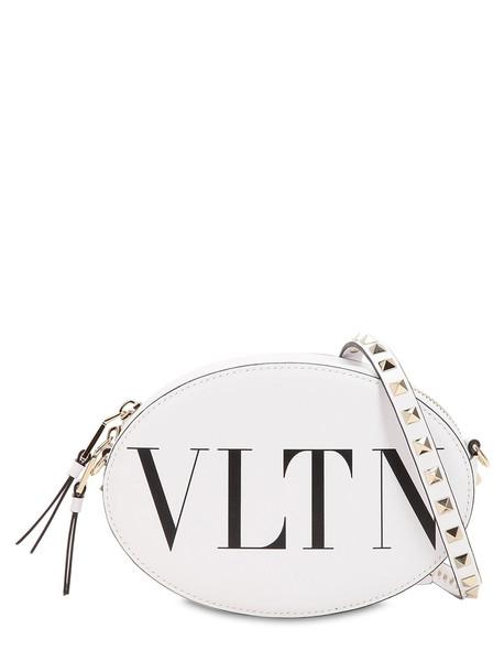 Valentino Garavani Vltn Leather Bag in white