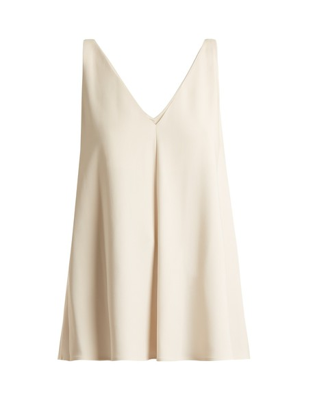 Stella McCartney top cream