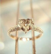 jewels,engagement ring,gold ring