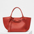 Small Big bag with long strap in supple grained calfskin | CÉLINE