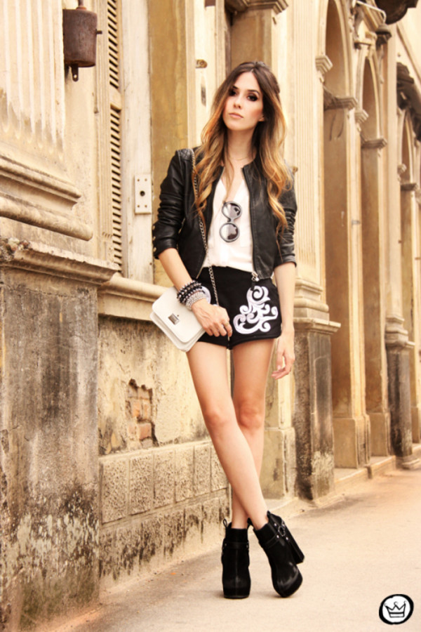 fashion coolture shorts jacket shirt sunglasses shoes