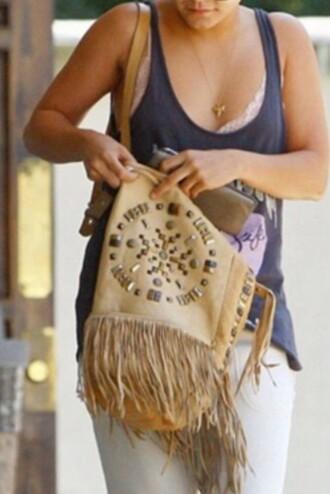bag obssession dreamcatcher studded bohemian love need  vanessa hudgens