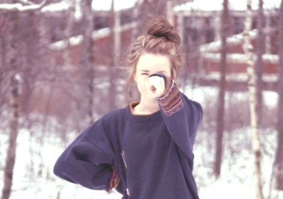 navy aztec sweater weather lovely nice sweater cute winter outfits pullover