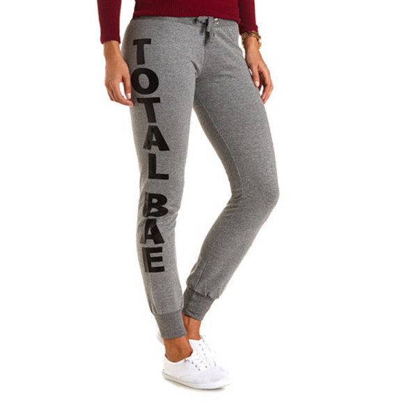 sweatpants bae fall outfits