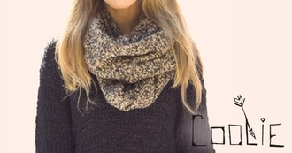scarf scarves infinity soft wool knit