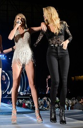 top,gigi hadid,lace,lace top,taylor swift,concert,model,black top,high waisted jeans,fashion,style,pants,leggings,jeggings