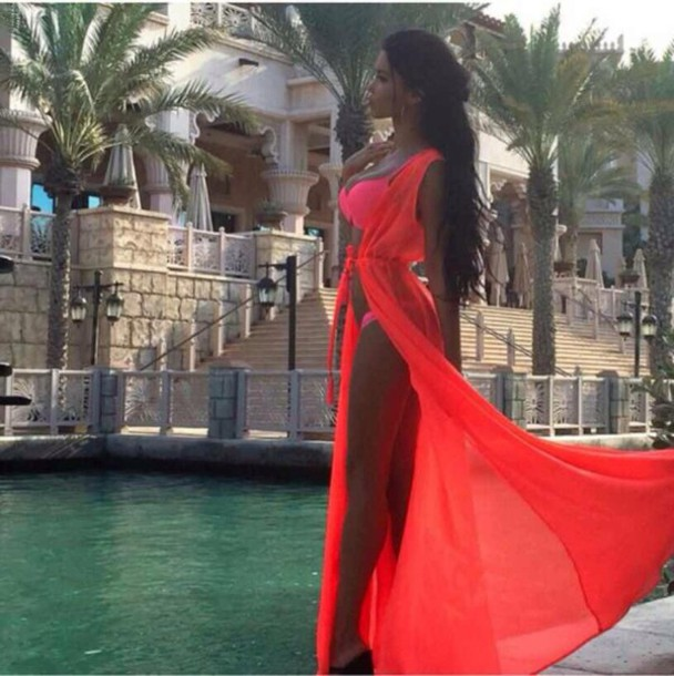 dress red/pink dress