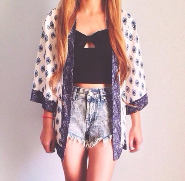 jacket shirt kimono cardigan chiffon cashmere