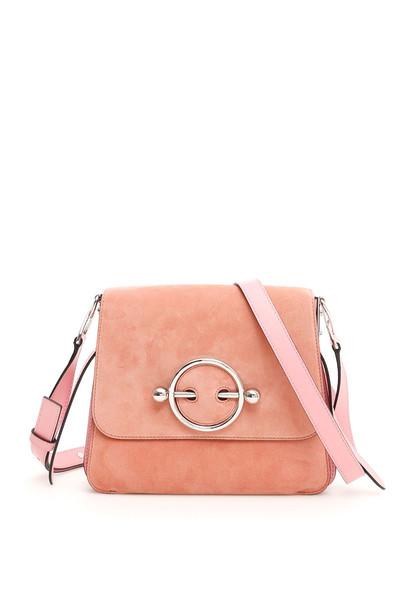 J.W. Anderson Disc Shoulder Bag in rose