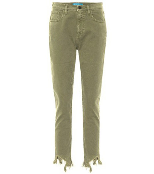 jeans skinny jeans high green