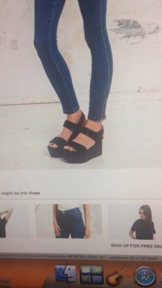 shoes chunky sandals urban outfitters