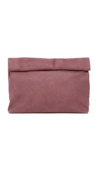Marie Turnor Accessories The Lunch Clutch - Plum